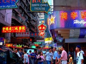 china travel shopping tourists