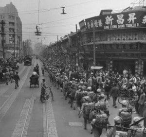 Shanghai china 1940-1950s history