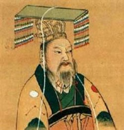 China's first emperor Qin Shihuang who built version 1 of the Great Wall
