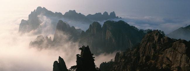 Huang shan panorama panoramic hi-res