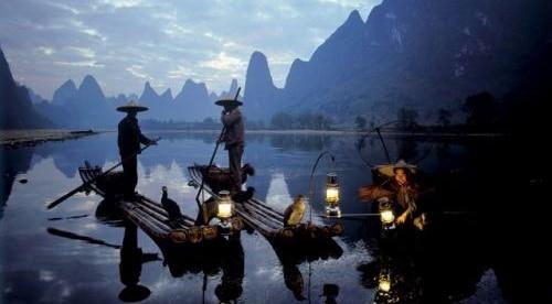 chinese cormorant fisherman guilin yangshuo