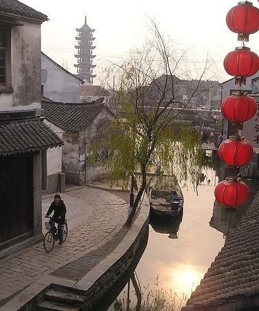 Water Canal in Suzhou