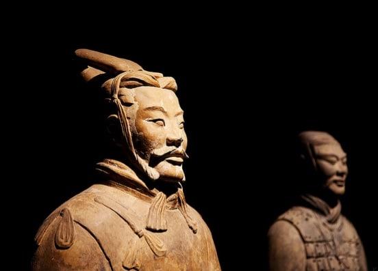 xian terra cotta warriors china travel pictures photos