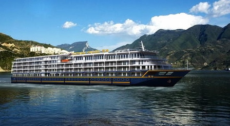 A 5-star international cruise ship