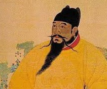 Painting of Chinese emperor, Zhu Di