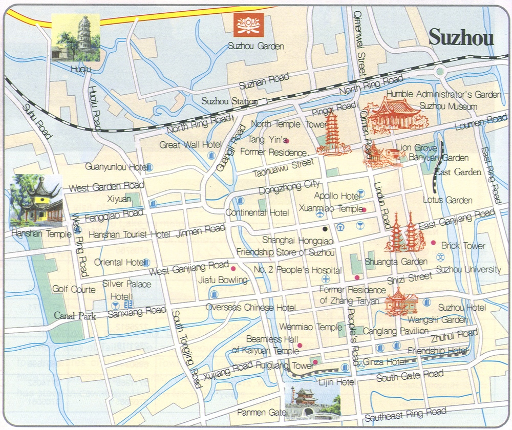 Maps of Suzhou | China Mike