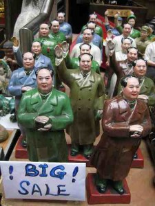 Figurines of Chinese people