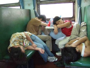 hard seat train small 300x225 Rail travel in China — tips on train travel