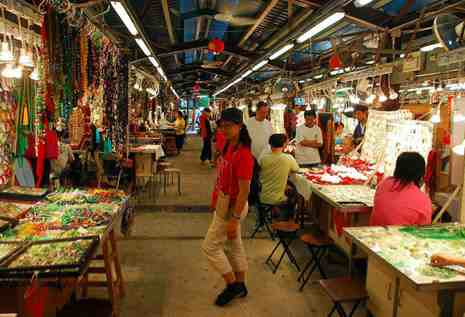 Just southwest of the night market is Jade Street and the Jade Hawker ...  Market