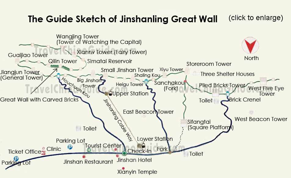 Jinshanling section of the Great Wall of China