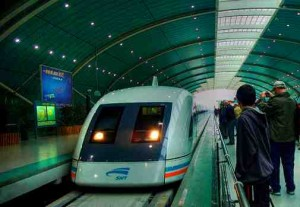 shanghai bullet train small 300x207 Rail travel in China — tips on train travel