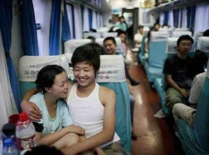 soft seat train small 300x222 Rail travel in China — tips on train travel