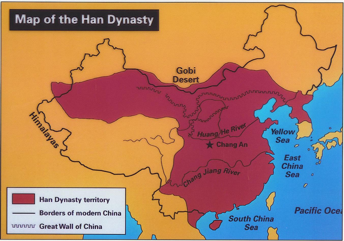 The Han Dynasty [206 BC – 220 AD]