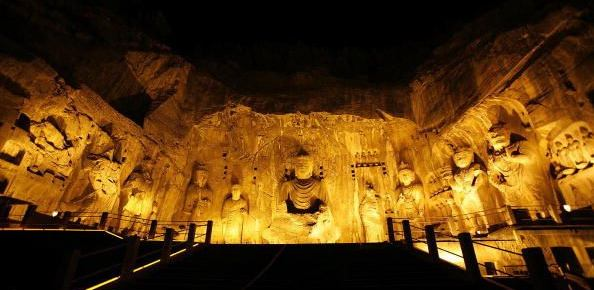 Picture of the long men grottoes