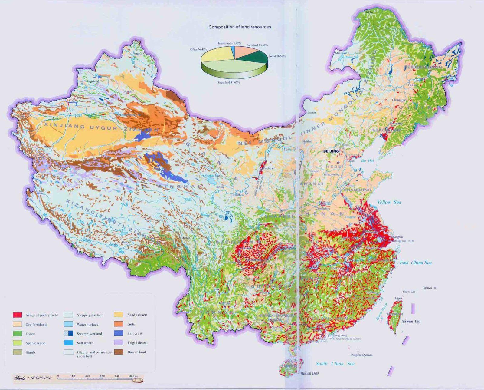 Land Composition Map
