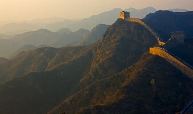 The beauty of a Great Wall Watchtower