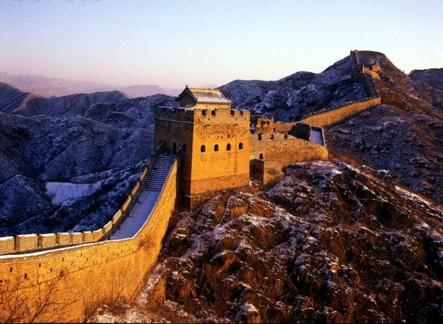 An image of the Great Wall of China