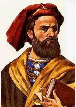 Painting of Marco Polo