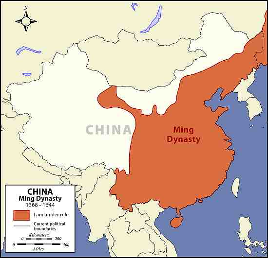 The Ming Dynasty [1368-1644 ]