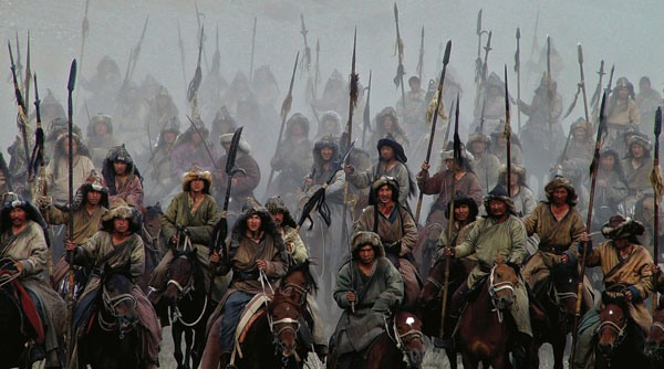Mongol armies which invaded China and created the Yuan Dynasty