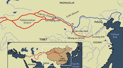THE HAN DYNASTY [ 206 BC – 220 AD ] | China Mike China Road Map In Chinese on