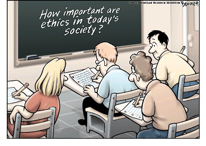 How important are ethics in today's society?