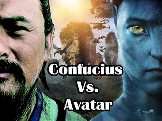 The Confucius movie in China vs Avatar