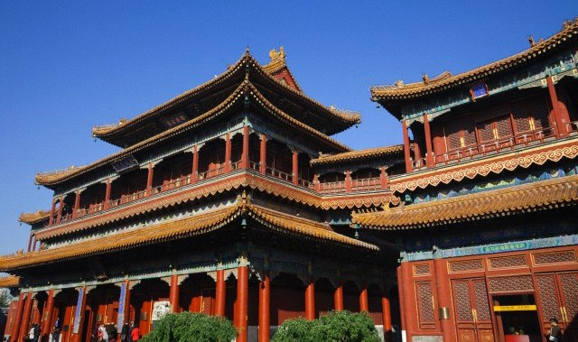 Tibetan Lama Temple in Beijing