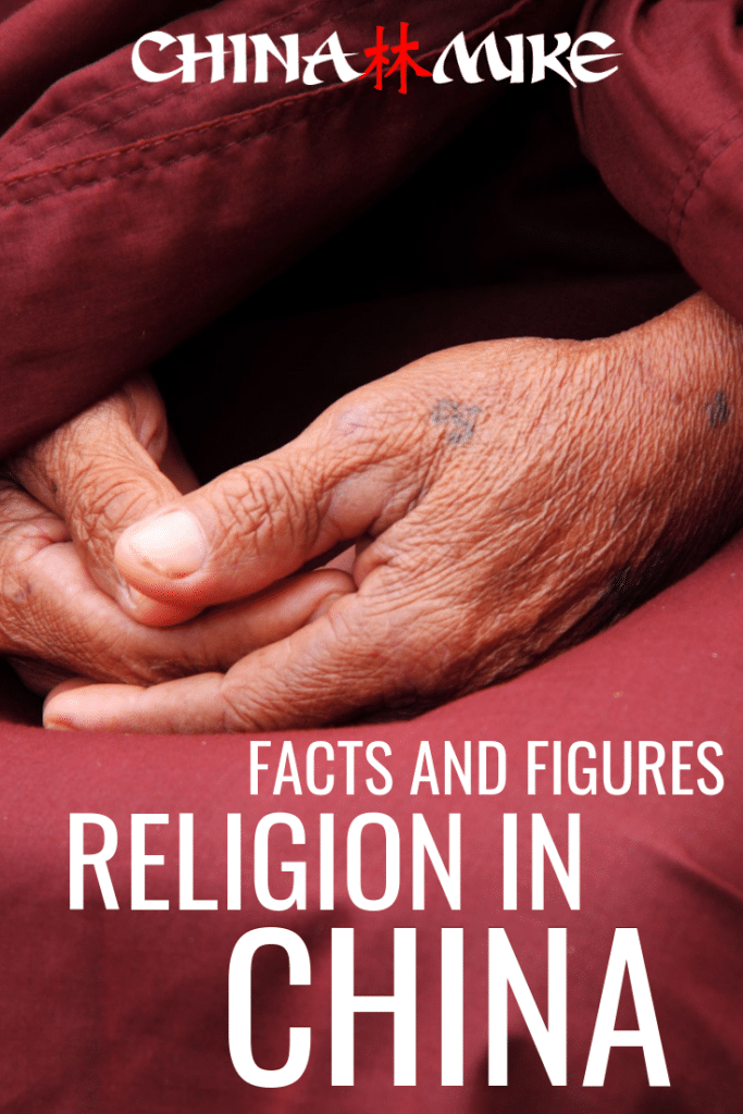 Curious to know more about religion in China? Here are all the facts and figures of Chinese religion for your trip to China! From Christianity to Buddhism, Islam and more! #china #travel #religion