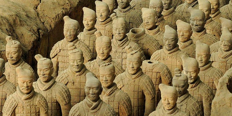 China's famous Terracotta Warriors in Xian