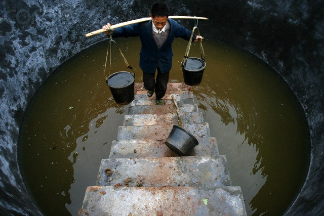 china polluted unsafe drinking water China Energy, Pollution, Environment facts & statistics