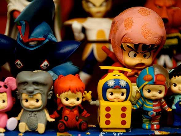 A picture of some Chinese toys