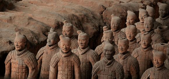 China's Terracotta Warriors in Xi'an