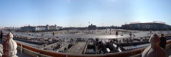 China's Tiananmen Square in Beijing