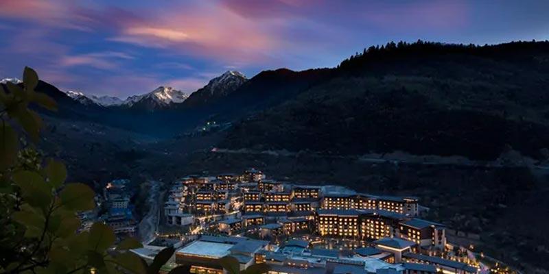 A beautiful China hotel