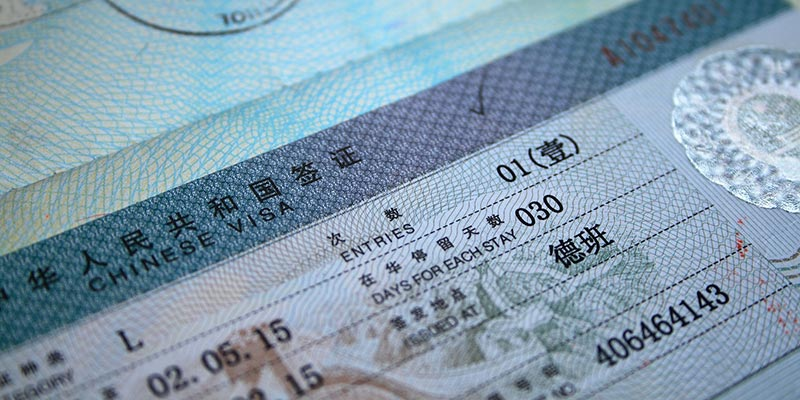 A China Visa guide for travelers to China