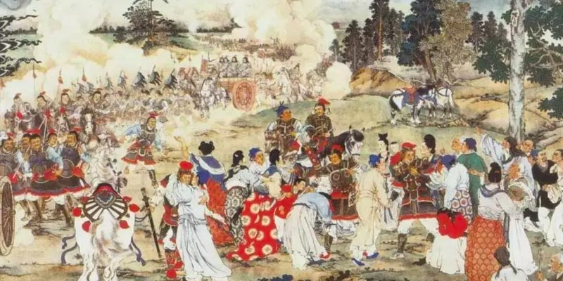 A painting of Chinese history