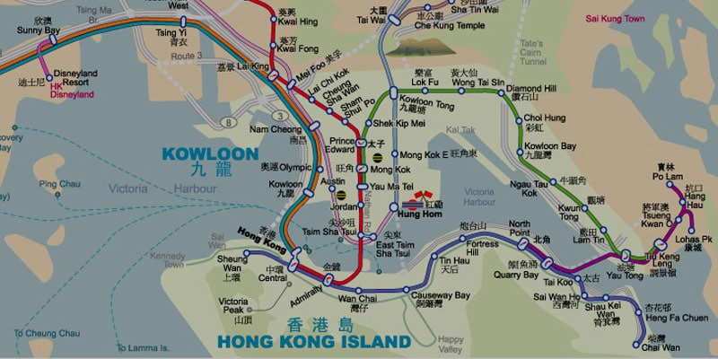 Downloadable Hong Kong Maps