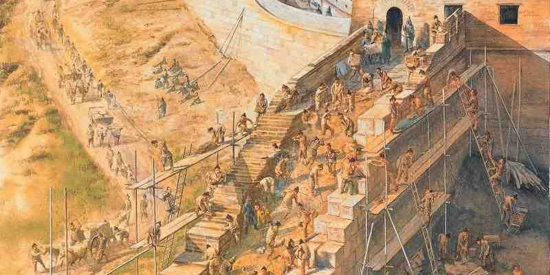 Construction of the Great Wall of China
