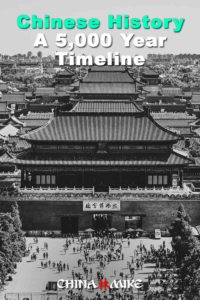 Chinese History Timeline - Pin this image on Pinterest