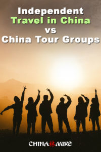 Independent Travel in China vs China Tour Groups! Pin this Image on pinterest!