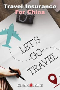 Save this article about travel insurance for China on Pinterest