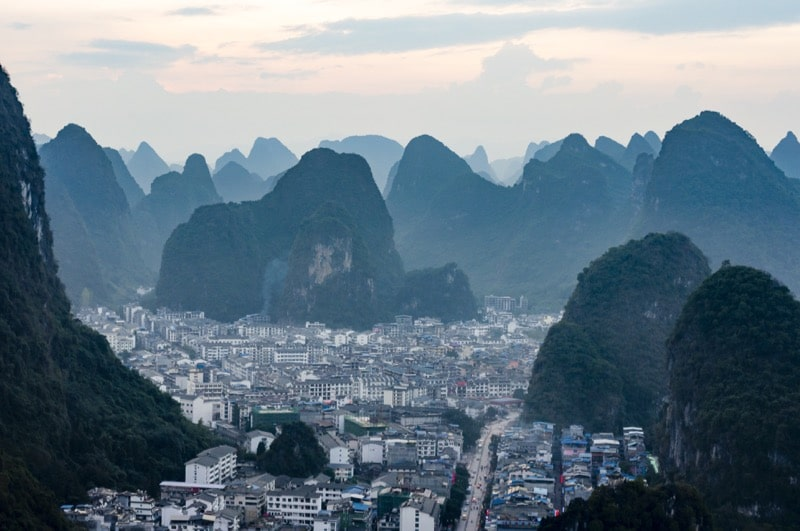 a picture of the city I Yangshuo