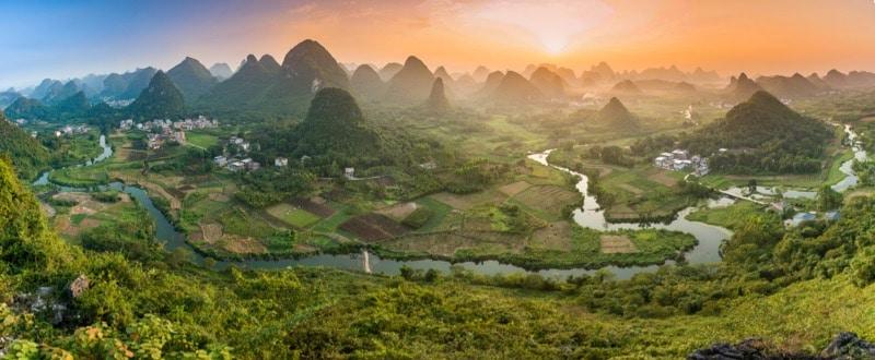 A beautiful scene in Guilin