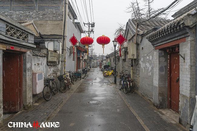 The Beijing hutong