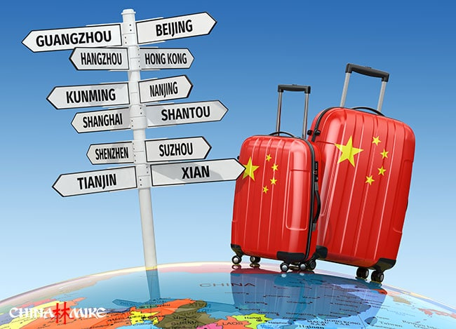 Suitcase in China